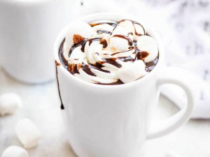Hot Chocolate with Mashmelow